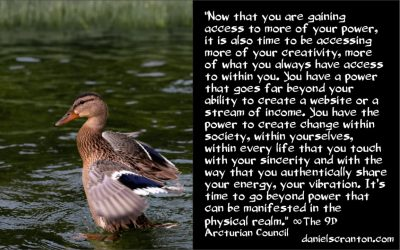 take even more of your power back - the 9th dimensional arcturian council - channeled by daniel scranton channeler of archangel michael