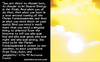 What Must Happen to Bring About the Event/Solar Flash ∞The 9D Arcturian Council, Channeled by Daniel Scranton channeler