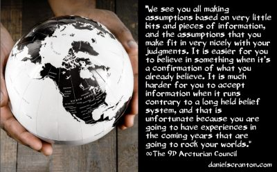 let your worlds be rocked - the 9th dimensional arcturian council - channeled by daniel scranton channeler of archangel michael