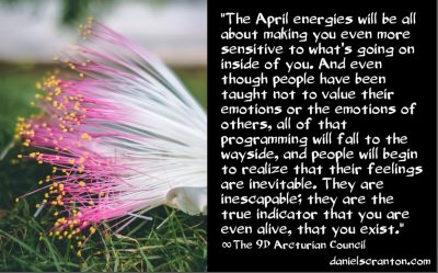 the april 2021 energies - the 9th dimensional arcturian council - channeled by daniel scranton channeler of archangel michael