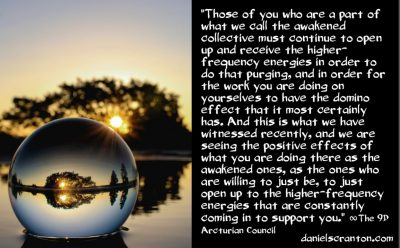 the awakened collective's huge energy purge - the 9th dimensional arcturian council - channeled by daniel scranton channeler archangel michael