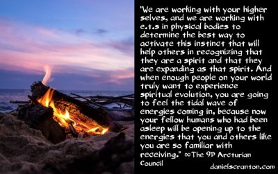 the awakening instinct switch - the 9th dimensional arcturian council - channeled by daniel scranton channeler of archangel michael