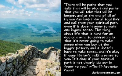 your illogical spiritual path - the 9th dimensional arcturian council - channeled by daniel scranton channeler archangel michael