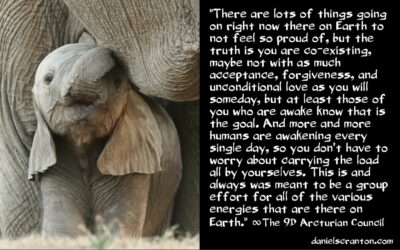 how the great earth experiment is going - the 9th dimensional arcturian council channeled by daniel scranton