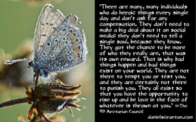 you could be heroes - the 9th dimensional arcturian council - channeled by daniel scranton channeler of archangel michael