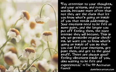 your mind & your emotions - the 9th dimensional arcturian council - channeled by daniel scranton channeler of archangel michael