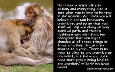 this is how to be spiritual - the 9th dimensional arcturian council - channeled by daniel scranton channeler of archangel michael