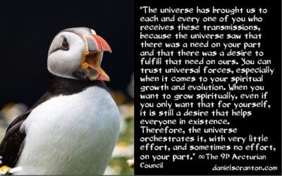 the powerful forces in this universe - the 9th dimensional arcturian council - channeled by daniel scranton channeler of archangel michael