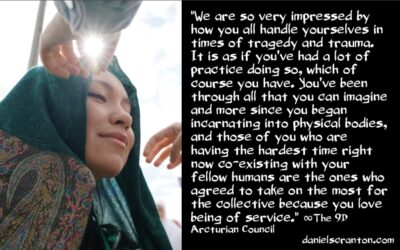 the two types of people on earth right now - the 9th dimensional arcturian council - channeled by daniel scranton channeler of archangel michael