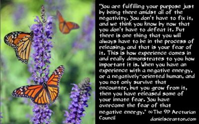 negative energies & your mission - the 9th dimensional arcturian council - channeled by daniel scranton channeler of archangel michael