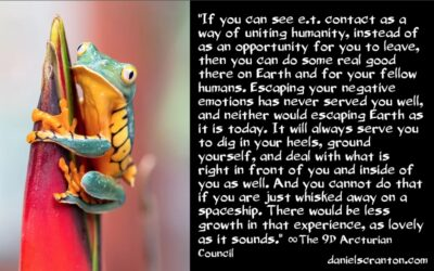 what will happen after first contact with ETs - the 9th dimensional arcturian council - daniel scranton channeler of archangel michael