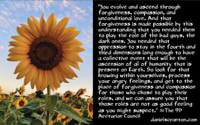 ascending in spite of your oppressors - the 9th dimensional arcturian council - channeled by daniel scranton channeler of archangel michael