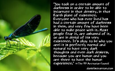 darkness in everyone & awakening in the dream - the 9th dimensional arcturian council - channeled by daniel scranton channeler of archangel michael