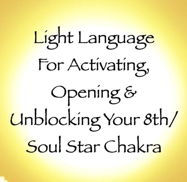 light language for activating opening & unblocking your 8th soul star chakra channeled by daniel scranton