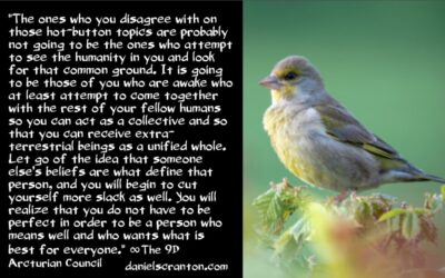 remove the illusion - the 9th dimensional arcturian council - channeled by daniel scranton channeler of archangel michael