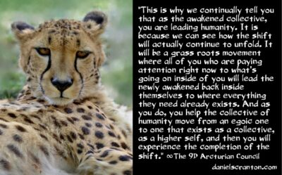 how you will experience the completion of the shift - the 9th dimensional arcturian council - channeled by daniel scranton channeler of archangel michael