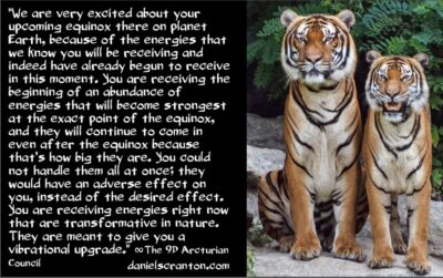 the september 2021 equinox energies - the 9th dimensional arcturian council - channeled by daniel scranton channeler of archangel michael