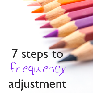 7 steps to frequency adjustment