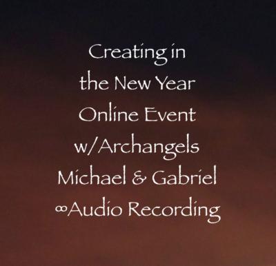 Archangels Michael Gabriel Archangel New Year Creation