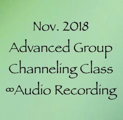 Group Sessions – Daniel Scranton's Channeling