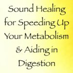 sound healing for speeding up your metabolism & aiding in digestion - channeled by daniel scranton channeler of archangel michael
