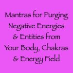 mantras for purging negative energies & entities in your physical body - channeled by daniel scranton channeler of arcturian council