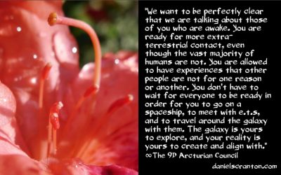 the age of full extra-terrestrial contact - the 9th dimensional arcturian council - channeled by Daniel Scranton channeler of archangel michael